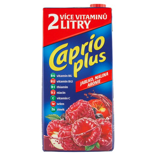 Caprio Plus Jablko malina 2l