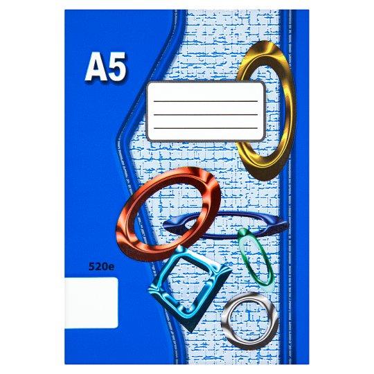 Papírny Brno 520e školní sešit A5 nelinkovaný 20 listů