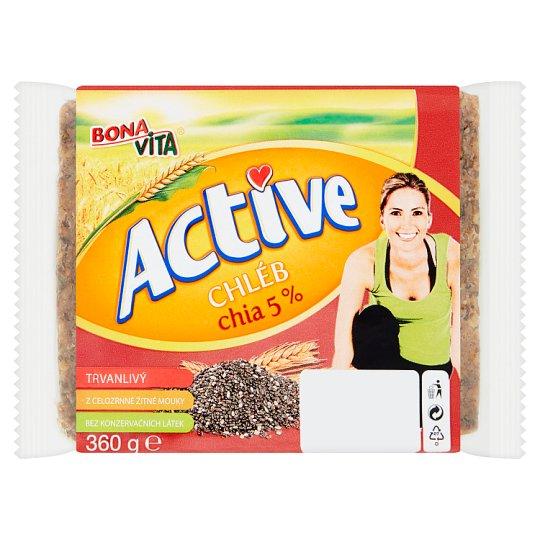 Bona Vita Active Chléb chia 5 % 360g