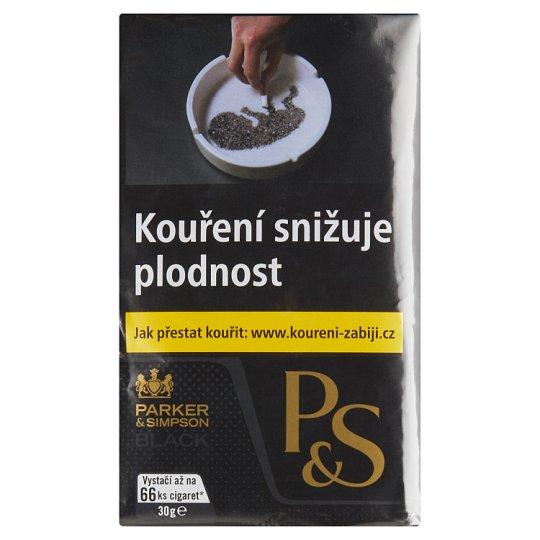 Parker & Simpson Black tabák ke kouření 30g