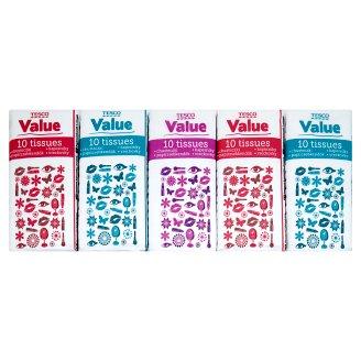 Tesco Value Kapesníky 10 x 10 ks