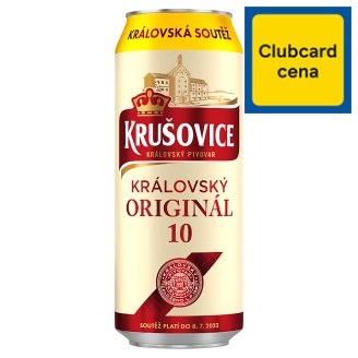 Krušovice 10 Light Draft Beer 0.5L