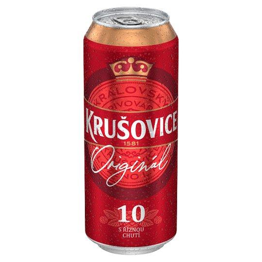 Krušovice Royal 10 Light Draft Beer 0.5L