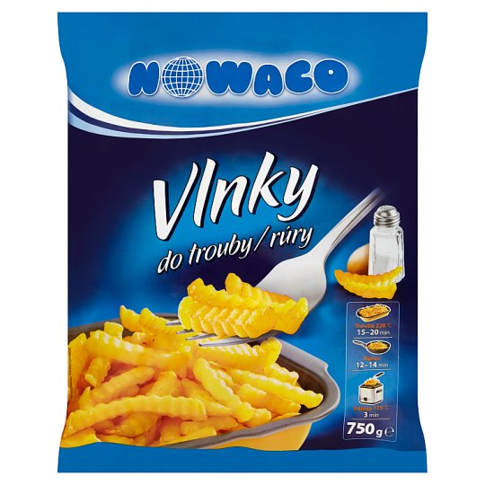 Nowaco Potato Waves in the Oven 750g