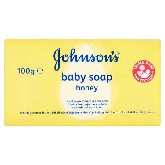Johnson's Baby Mýdlo s dětským olejem a medem 100g