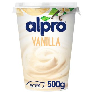 Alpro Vanilla Soyawith Youghurt Cultures 500g