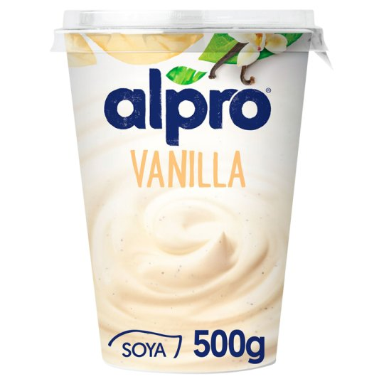 Alpro Vanilla Soyawith Youghurt Cultures 500g