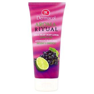 Dermacol Aroma Ritual Antistresové tělové mléko hrozny s limetkou 200ml