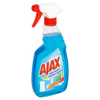 Ajax Triple Action Glass Cleaner Spray 500ml