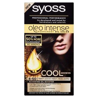 Syoss Oleo Intense Olejová barva tmavý ledově hnědý 4-50