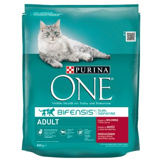 Purina ONE Adult Rich in Beef and Whole Grain Cereals 800g
