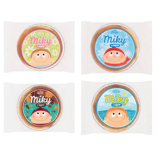 Pecud Miky with Fruit Filling 70g