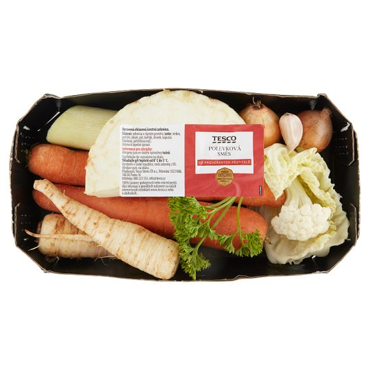 Tesco Value Polévková směs zeleniny 400g