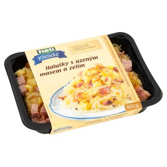 Heli Klasické Slovak Style Potato Dumplings with Smoked Meat and Sauerkraut 400g
