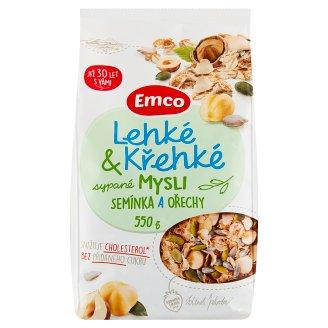 Emco Mysli Lehké & křehké sypané semínka a ořechy 550g