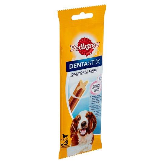 Pedigree Dentastix Denní péče o ústní dutinu 10-25kg 3 tyčinky 77g