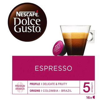 NESCAFÉ® Dolce Gusto® Espresso - Coffee Capsules - 16 Capsules in Packaging