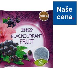 Tesco Ovocný čaj s příchutí černého rybízu 20 x 2g