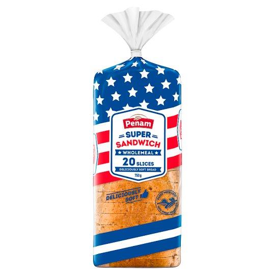 Penam Super Sandwich Wholemeal 750g