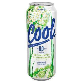 Staropramen Cool S příchutí bezový květ & lemongrass nealko 0,5l