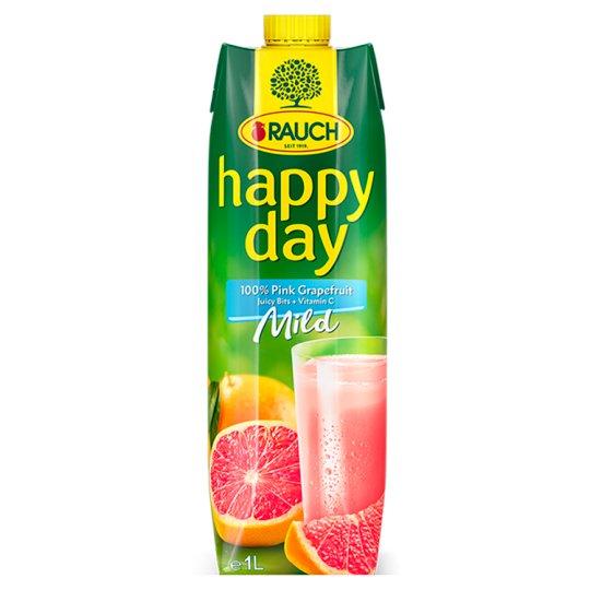 Rauch Happy Day 100% růžová grapefruitová šťáva s dužinou 1l