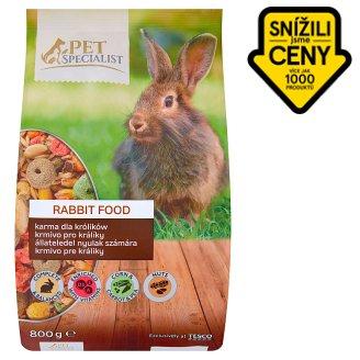 Tesco Pet Specialist Krmivo pro králíky 800g