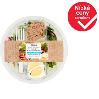 Tesco Tuna and Egg Salad 230g