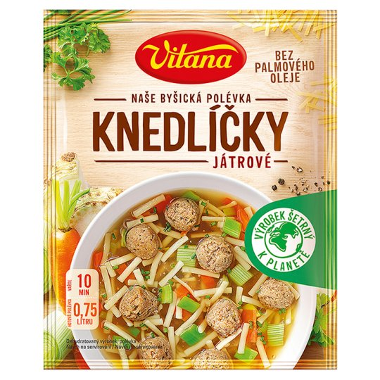 Vitana Soup with Liver Dumplings 58g