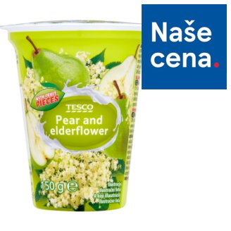 Tesco Pear and Elderflower Yogurt 150g