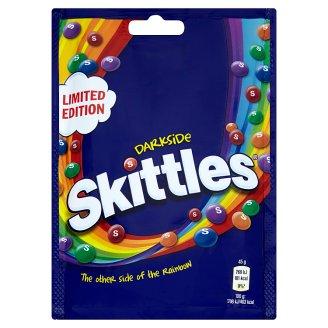 Skittles Darkside Žvýkací bonbóny v křupavé cukrové krustě s ovocnými příchutěmi 174g