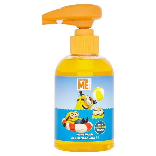 Minions Hand Wash for Kids with Giggling Sound 250ml