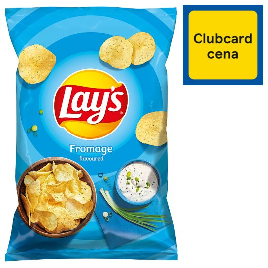 Lay's Smažené bramborové lupínky s příchutí smetanového sýra a bylin 140g