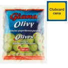 Giana Spanish Green Olives Stuffed with Pimiento Paste in Slightly Salted Brine 195g