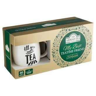 Ahmad Tea My Best TeaTime Friend kolekce čajů 60,5g + porcelánový hrnek
