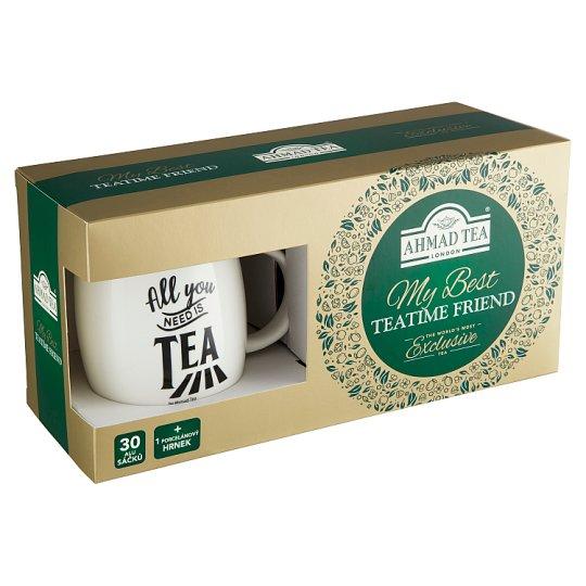 Ahmad Tea My Best TeaTime Friend Tea Collection 60.5g + Cup