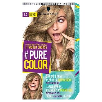 Schwarzkopf Pure Color barva na vlasy Pravá Blond 8.0