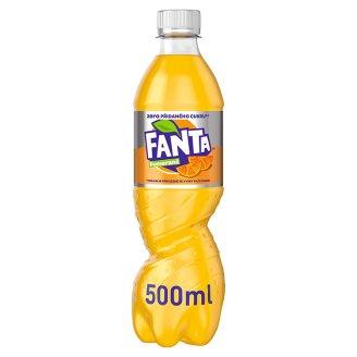 Fanta Zero limonáda s pomerančovou příchutí 500ml