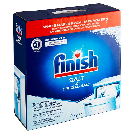Finish Dishwasher Salt 4kg
