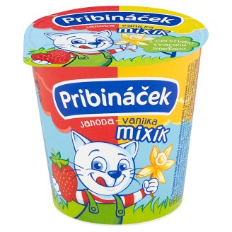 Pribináček Mixík Strawberry-Vanilla 125g