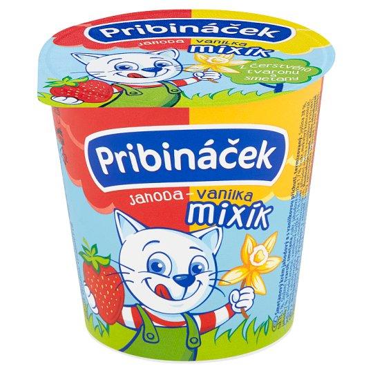 Pribináček Mixík Strawberry-Vanilla 125g