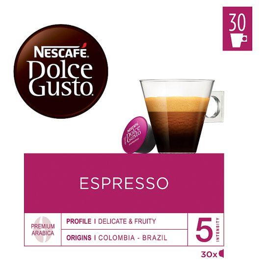 NESCAFÉ® Dolce Gusto® Espresso - kávové kapsle - 30 kapslí v balení