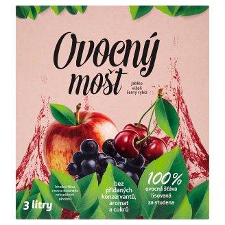 Fruit Juice Apple, Sour Cherry, Black Currant 3L