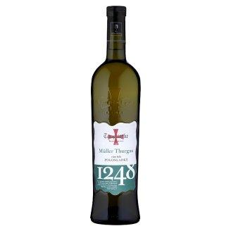 Templářské Sklepy Čejkovice Müller Thurgau bílé polosladké víno 0,75l