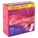Carefree Plus Large Pantyliners 64 pcs