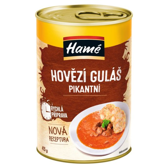Hamé Spicy Beef Goulash 415g