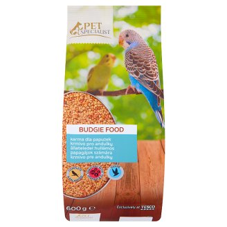 Tesco Pet Specialist Budgie Food 600g
