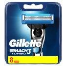 Gillette Mach3 Turbo Holicí Hlavice Pro Muže 8Ks