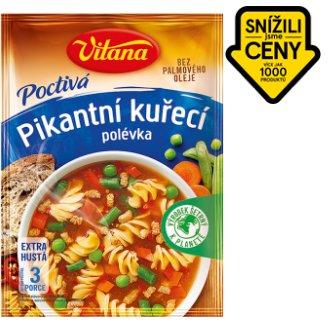 Vitana Poctivá polévka pikantní kuřecí 127g