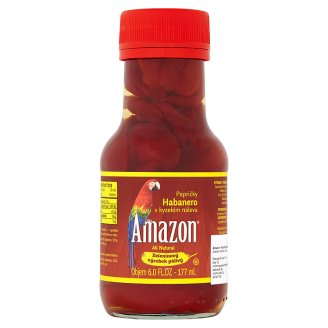 Amazon Papričky habanero v kyselém nálevu 176g