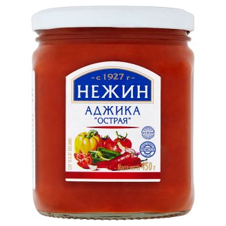 Nezhin Adjika Vegetable Sauce in the Georgian Way 450g